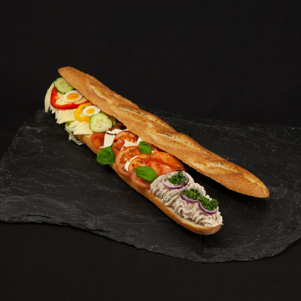 Baguette mediterran