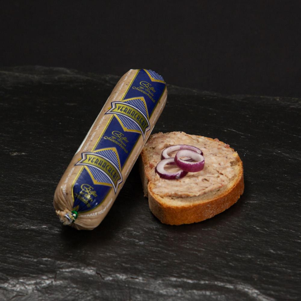 Verhackertes auf Brot